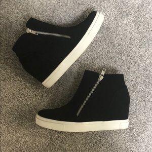 26ba0db0e60 Brash Shoes - Brash Cece Hidden Wedge Shoe in Black